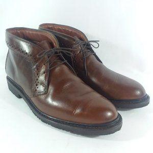 AE Bellevue Plain Toe Brogue Chukka Boots Mens 9D